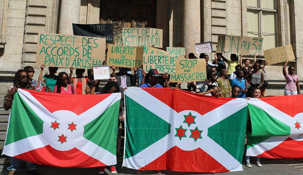 Burundi: Marche contre les violations des droits de l'Homme àLyon