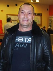 Franck Suchet, président de « l'Asso Léo »