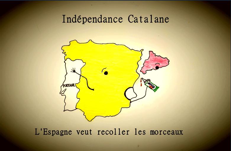 Ce que pensent deux Espagnols lyonnais de la crise catalane