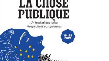 Logo du festival «La chose publique». Crédit Villa Gillet.
