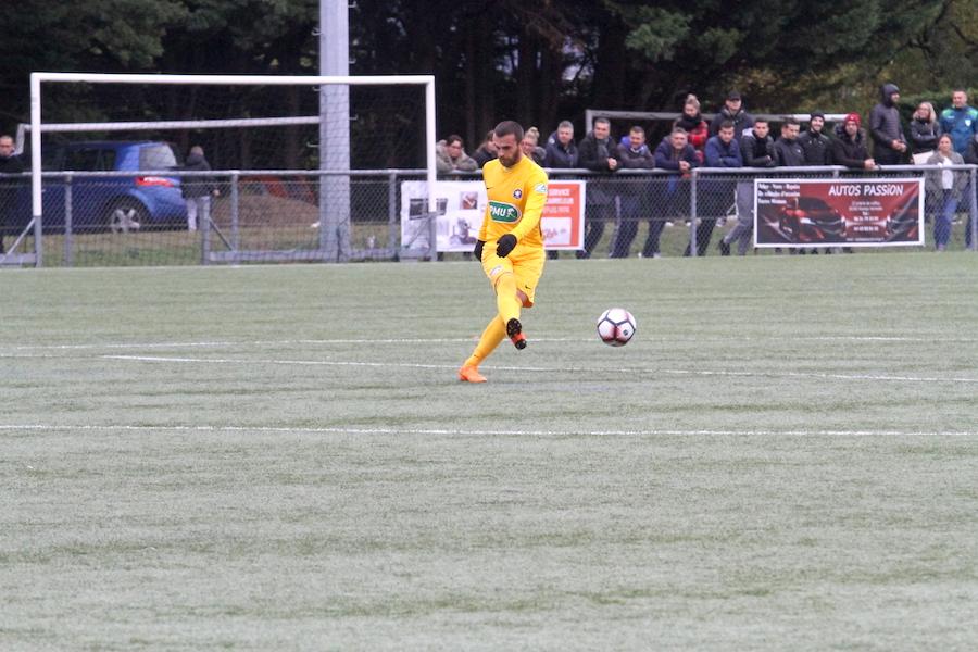 Nicolas Seguin a disputé 11 matchs comme titulaire en championnat cette saison., pour 2 buts. Crédit photo : Thomas Hernu / Lyon-Duchère AS.