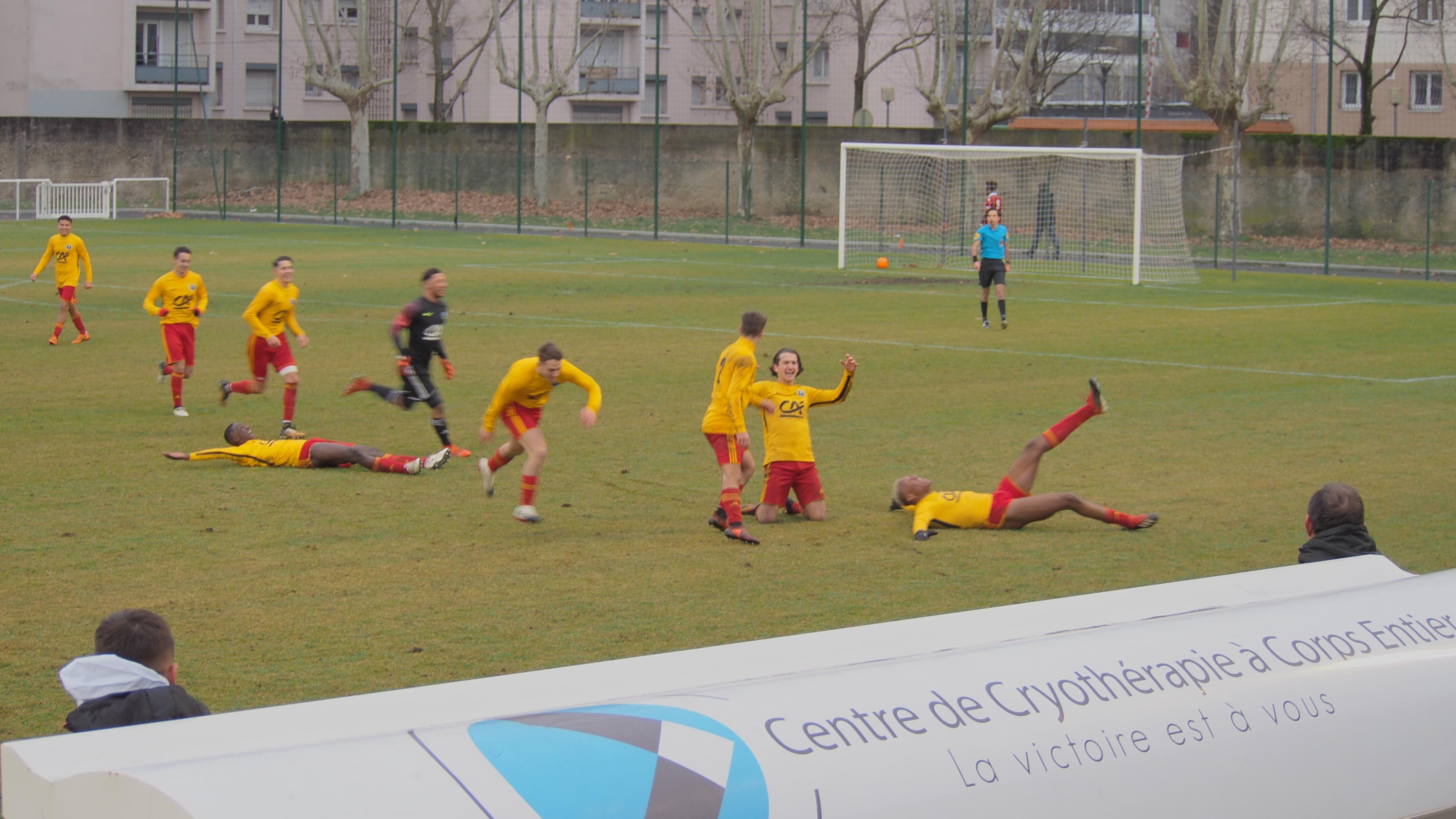 Coupe Gambardella : Saint-Priest récidive contre Nice