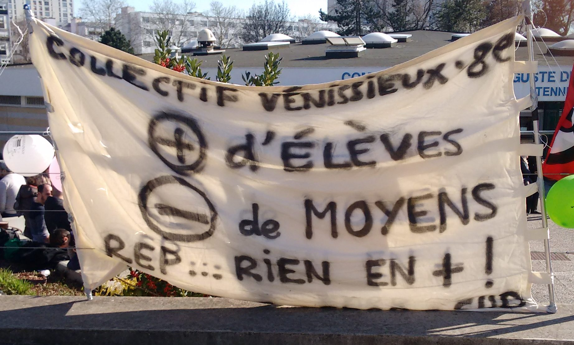 A Vénissieux, l'éducation en péril