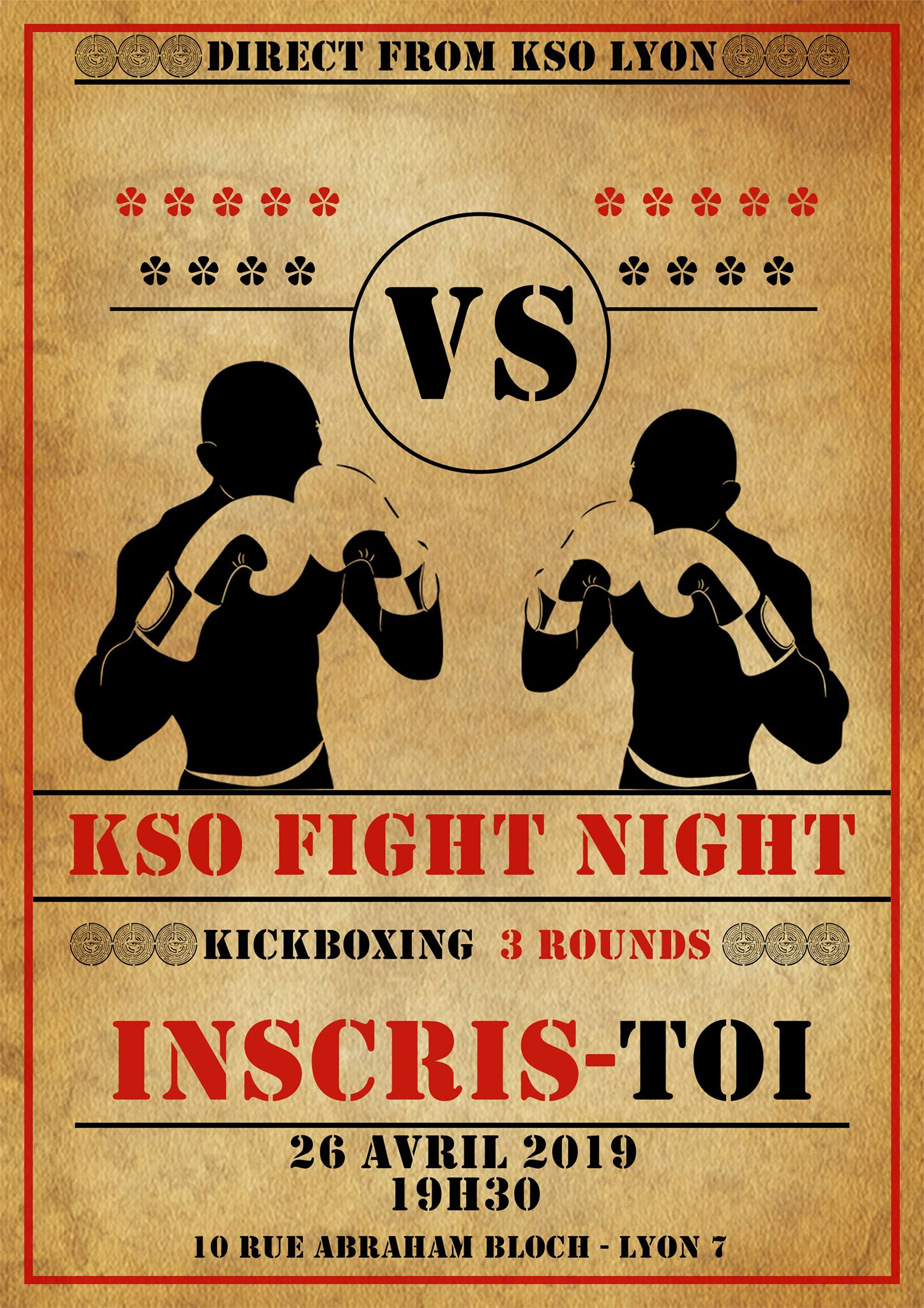 KSO Fight Night : une première édition percutante