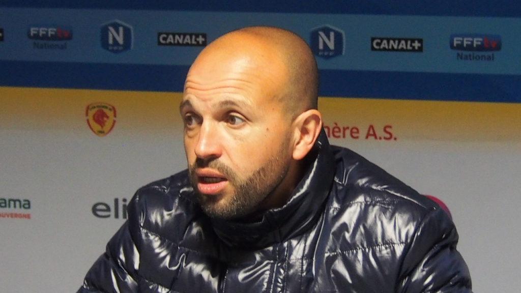 Karim Mokeddem en conférence de presse Hugo Dervissoglou / LBB