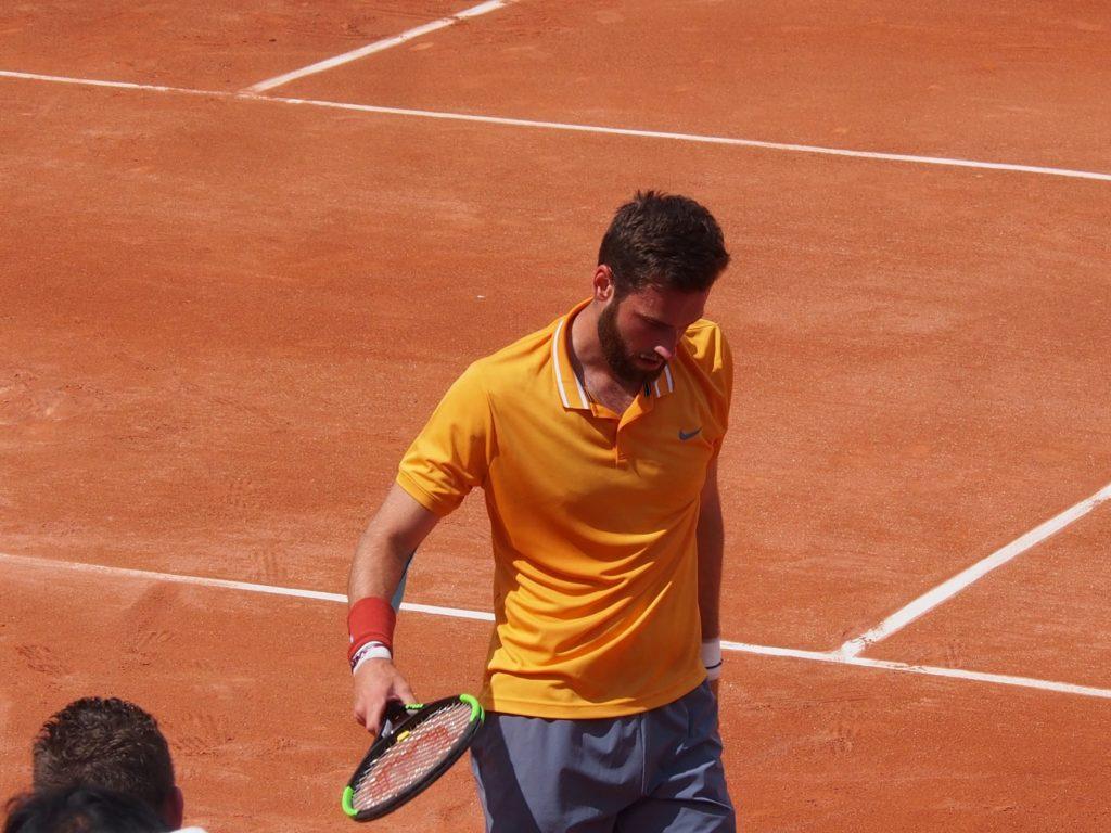 Quentin Halys confirme son regain de forme après sa finale à Aix-en-Provence Crédit photo : Hugo Dervissoglou / Lyon
