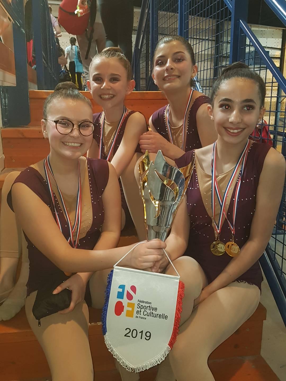 Les gymnastes de la PESD donnent le rythme