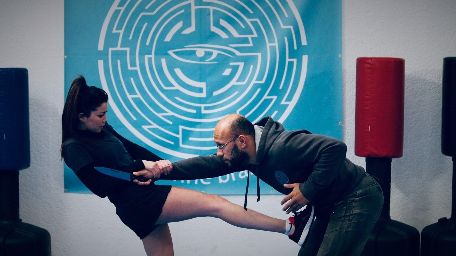 Melissa Meunier et Jimmy Kasomivoin lors d'une séance au KSO (Crédit InesBdz)