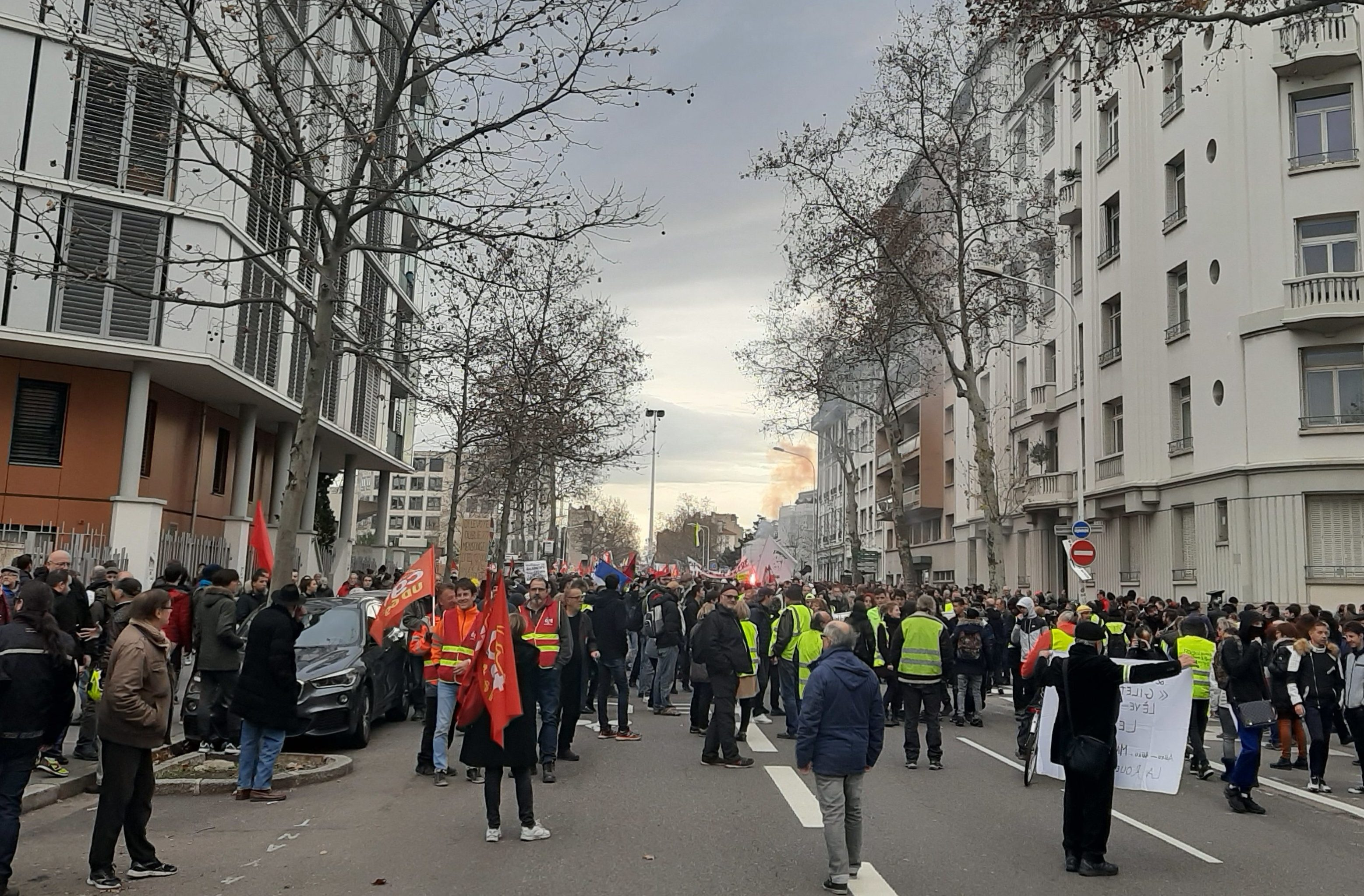 Réforme des retraites : 30 000 personnes dans les rues à Lyon