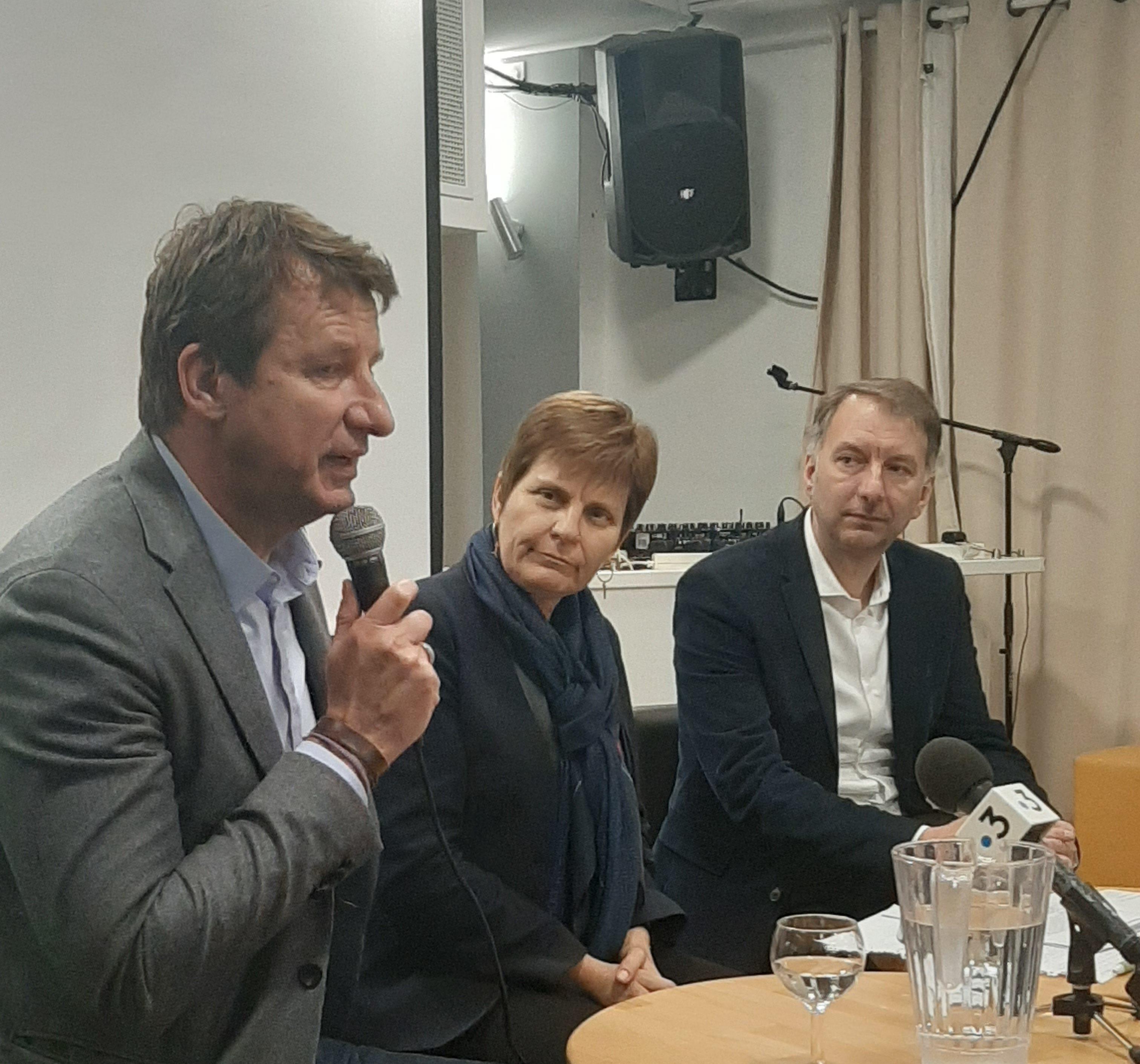 Yannick Jadot de visite à Lyon pour soutenir les écologistes