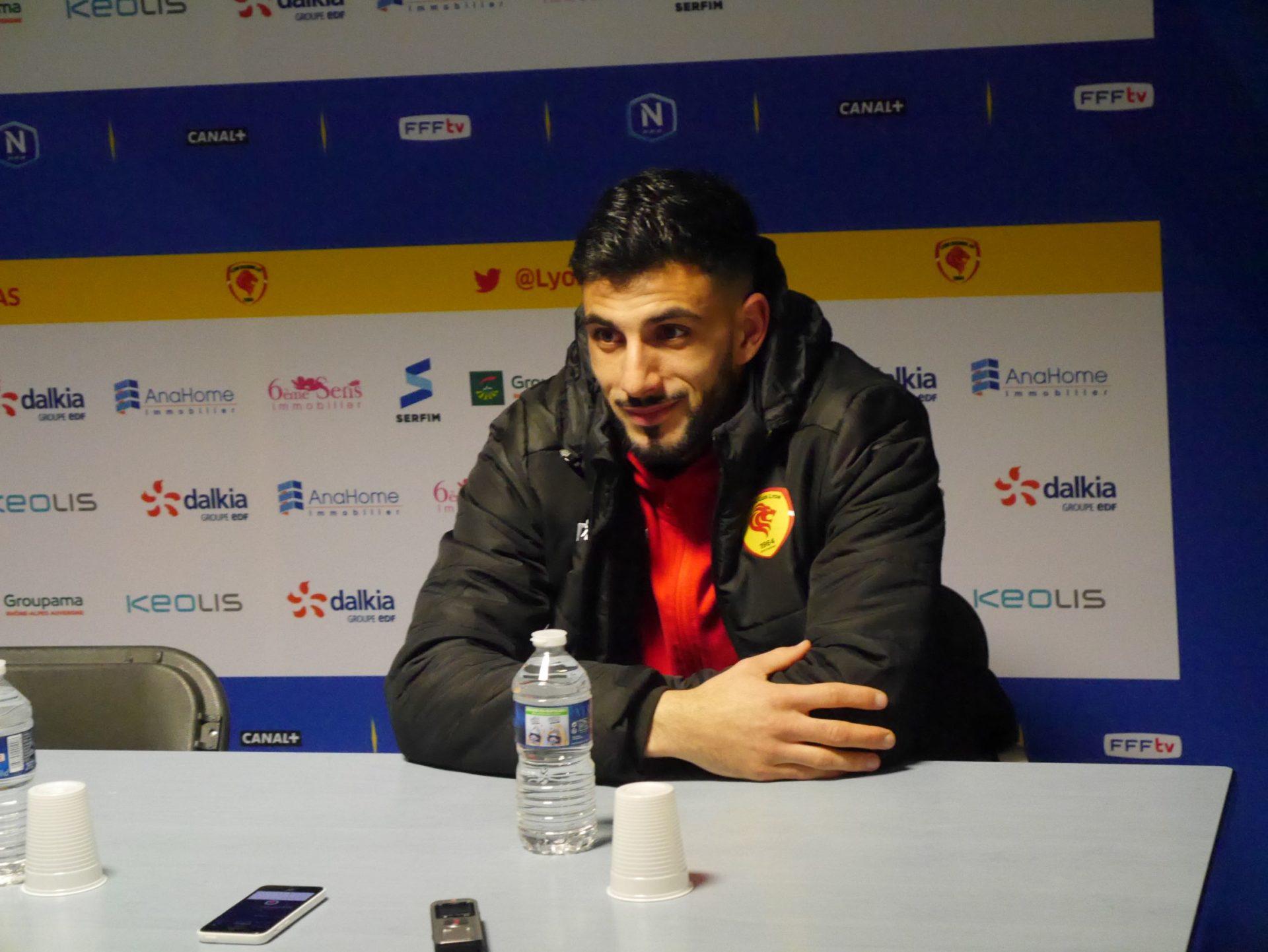Jonathan Rivas est devenu le meilleur du championnat malgré un léger manque de réussite face au but. Crédit photo : Hugo Dervissoglou