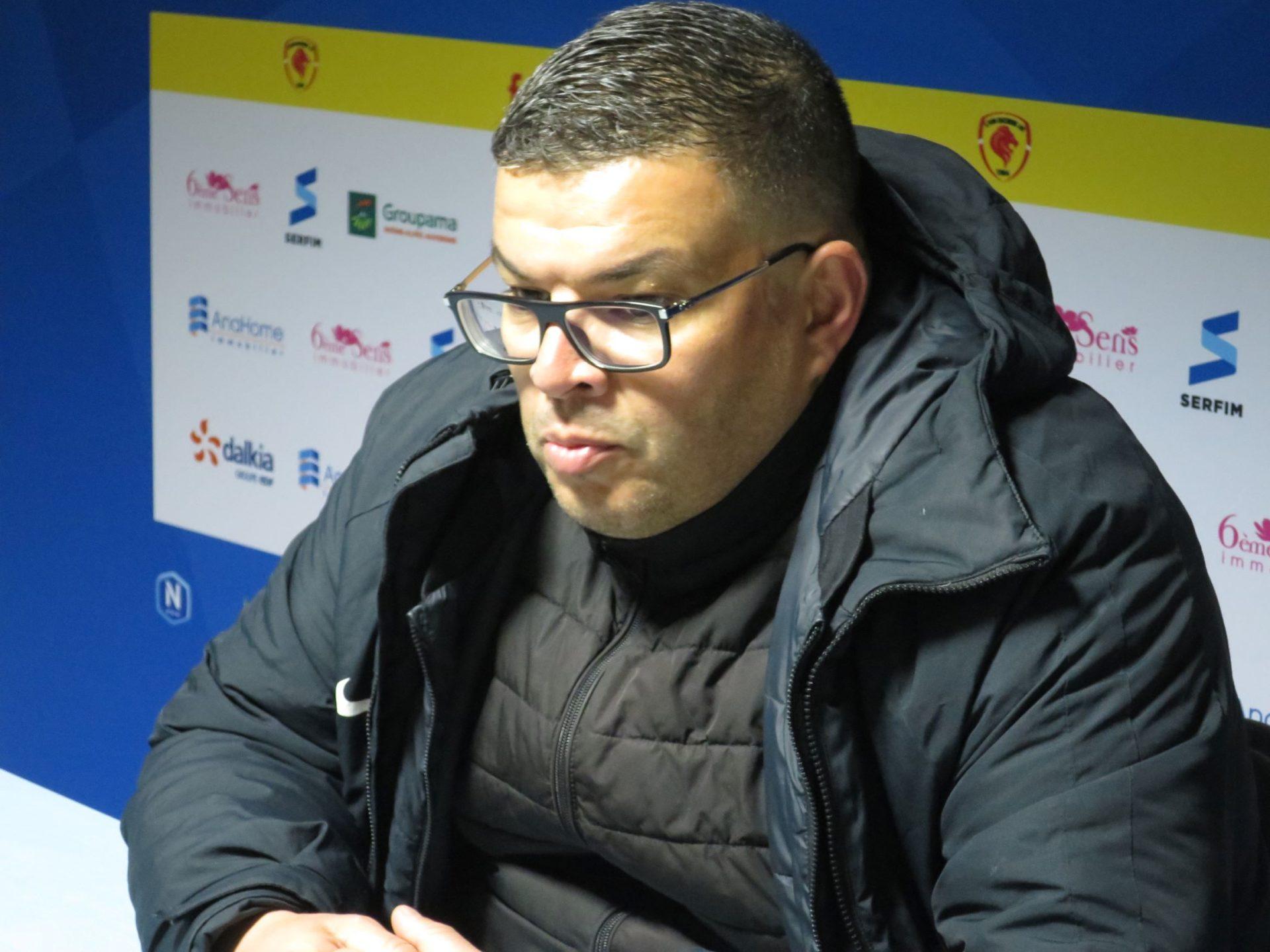 Mohamed Metoui pourra compter sur le retour de Jonathan Rivas-Marouani à Boulogne-sur-mer. Crédit photo : Hugo Dervissoglou / LBB