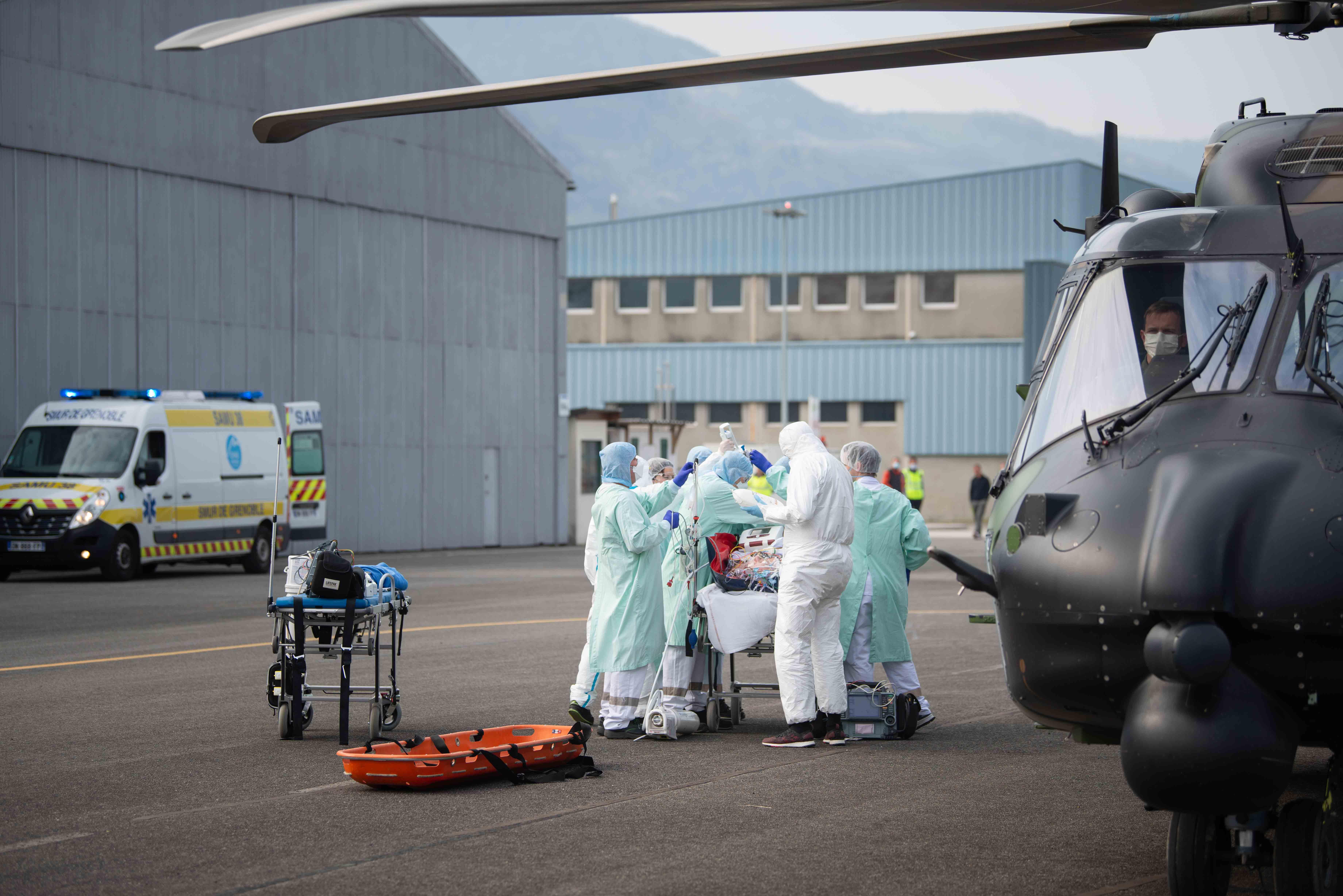 Opération résilience, l'armée sur le front sanitaire