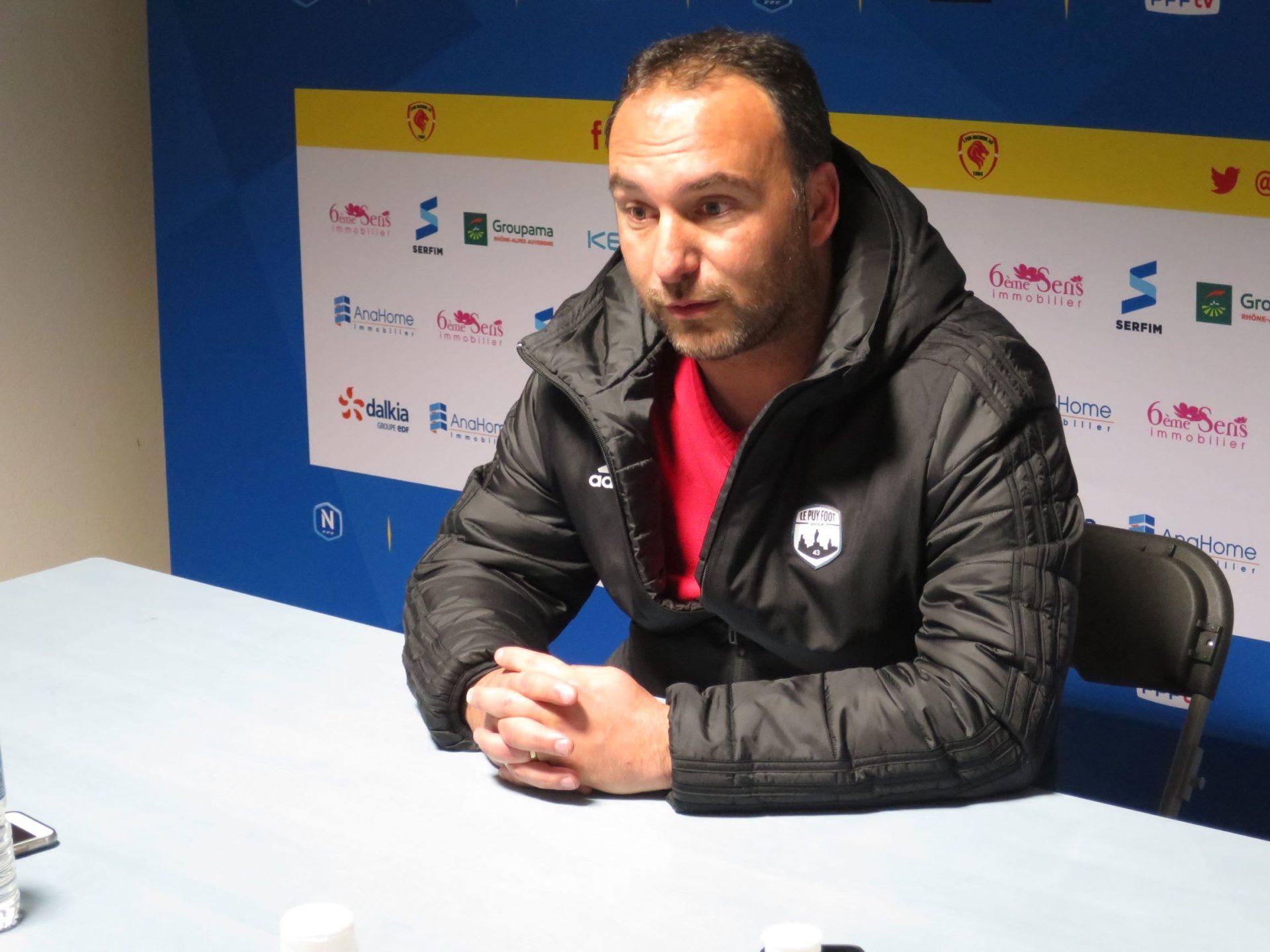 Roland Vieira se projette déjà sur le match décisif face à Quevilly-Rouen, vendredi 13 mars. Crédit photo ; Hugo Dervissoglou / LBB