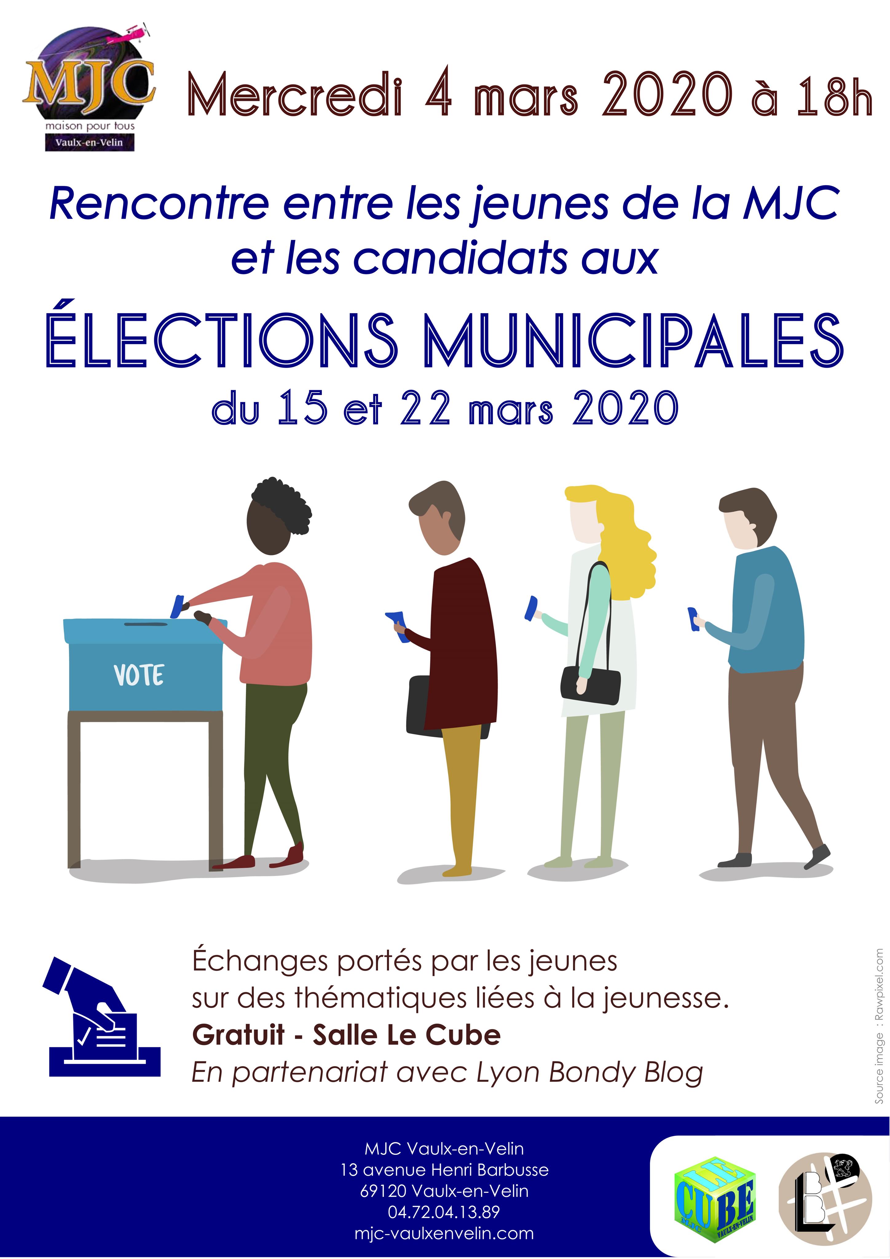 Donner la parole aux jeunesde Vaulx-en-Velin pour les élections municipales