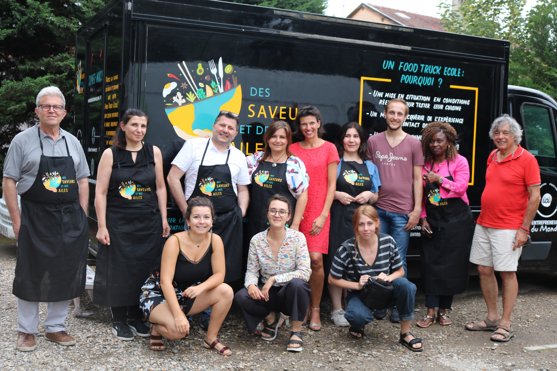 Entrepreneurs du monde s'installe à Vaulx-en-Velin