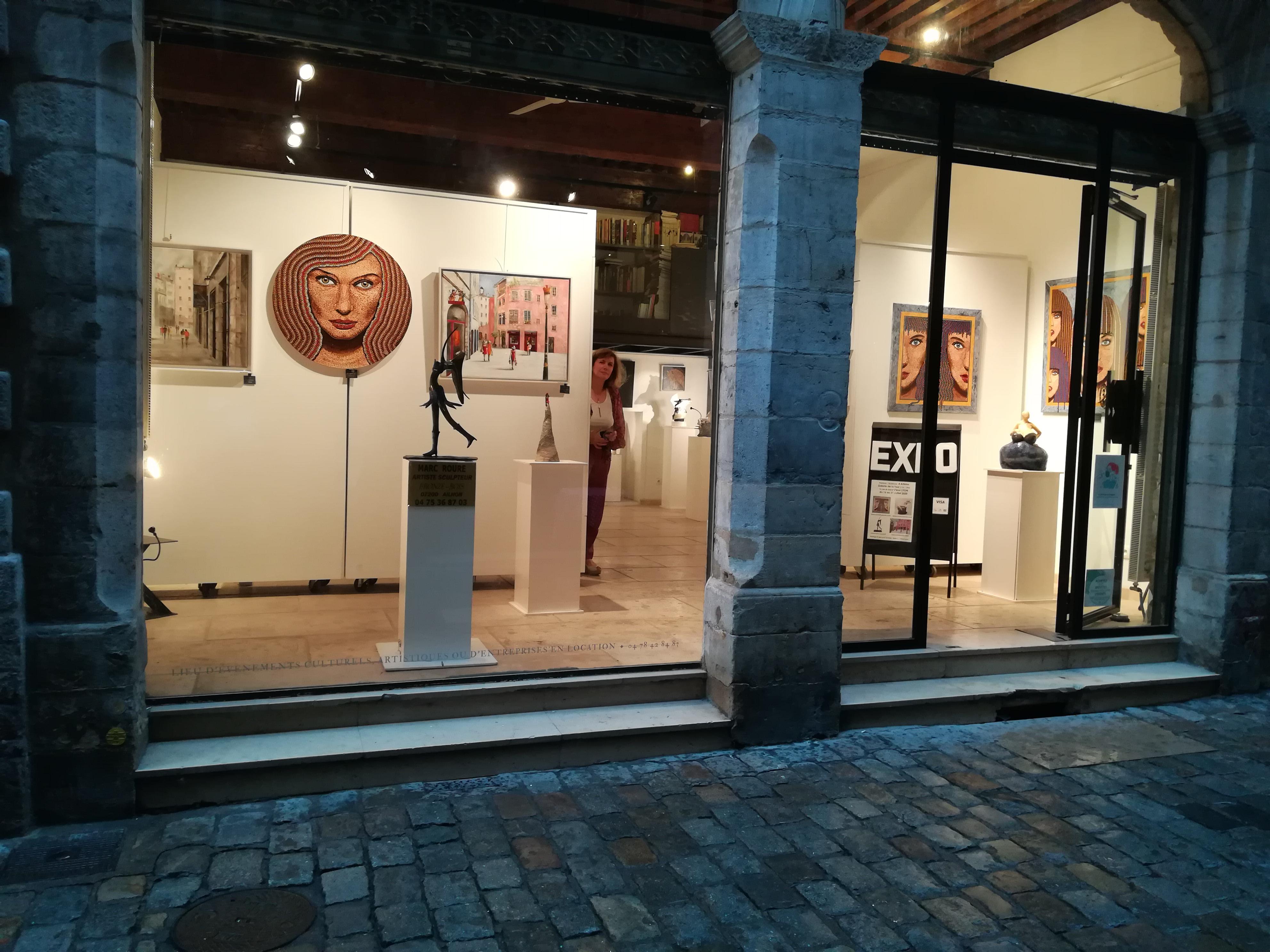 Le Vieux Lyon à travers le regard d'artistes locaux