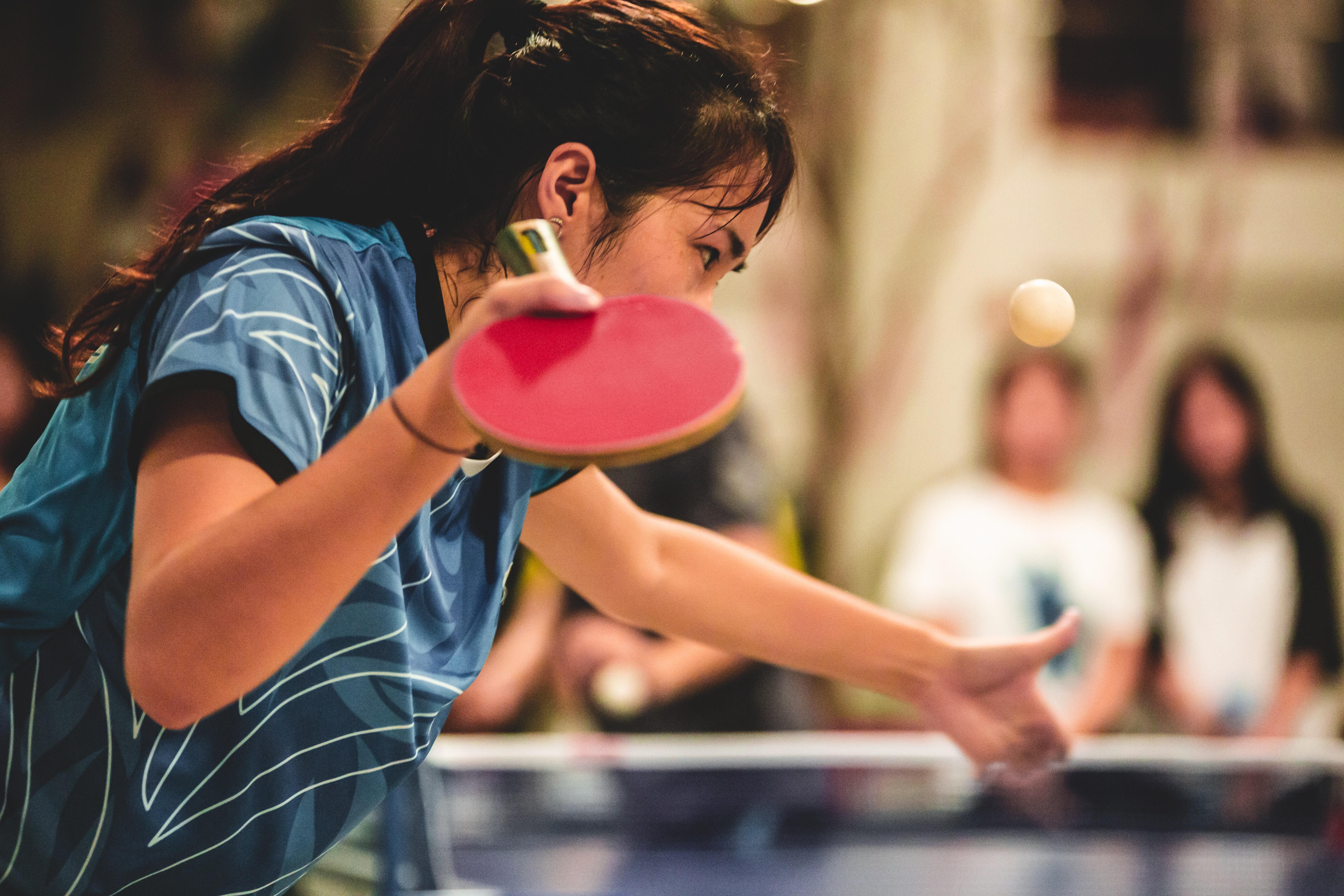 Tennis de table : la raquette aux mains des femmes