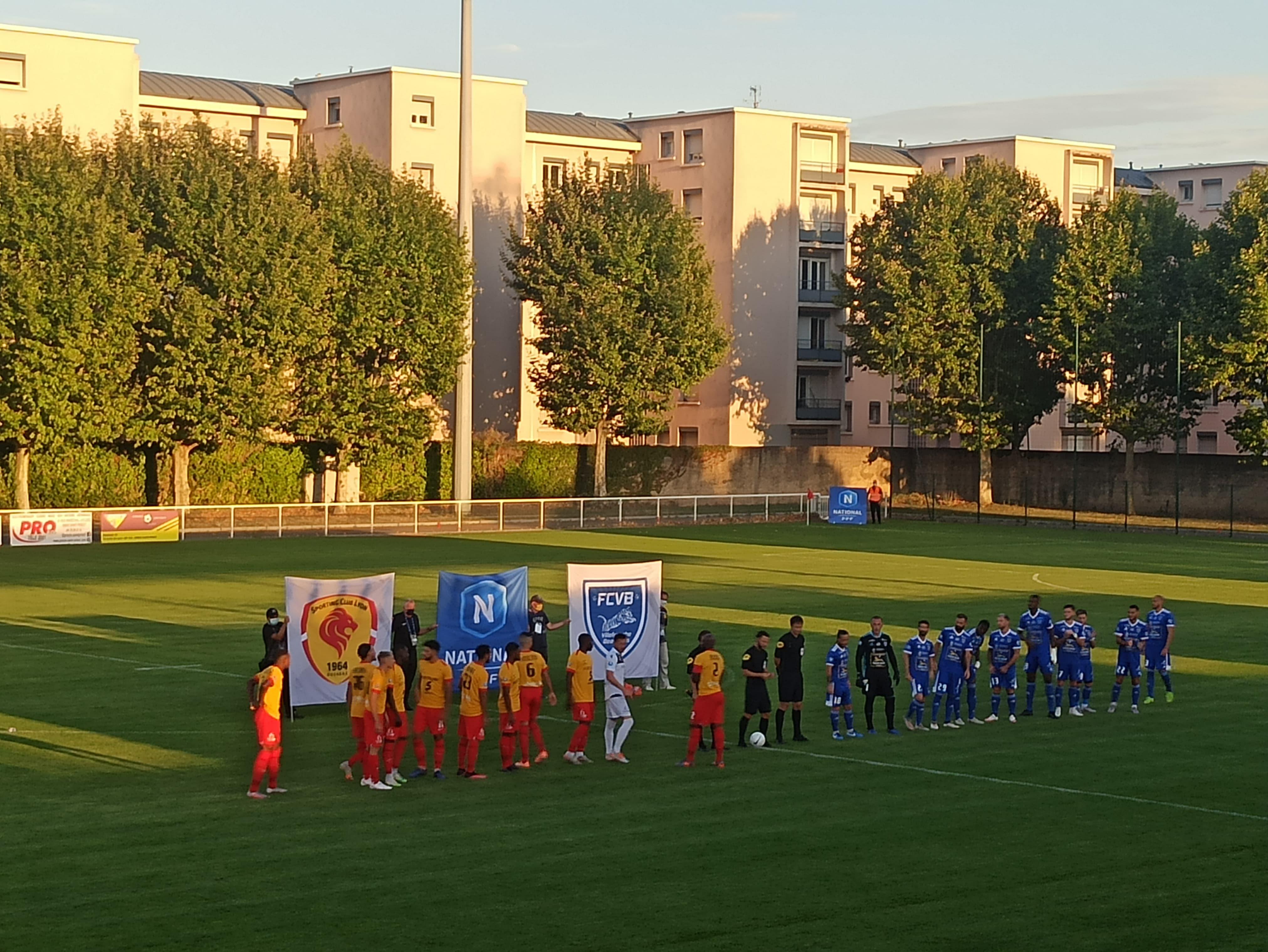 Pour leur premier match de la saison de National, le SCL a partagé les points avec Villefranche