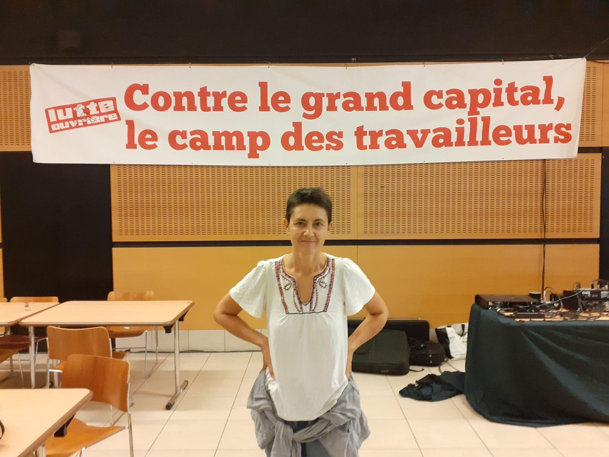 Nathalie Arthaud : « Les sauvages on les retrouve d'abord dans les conseils d'administrations des grandes entreprises comme Bridgestone »