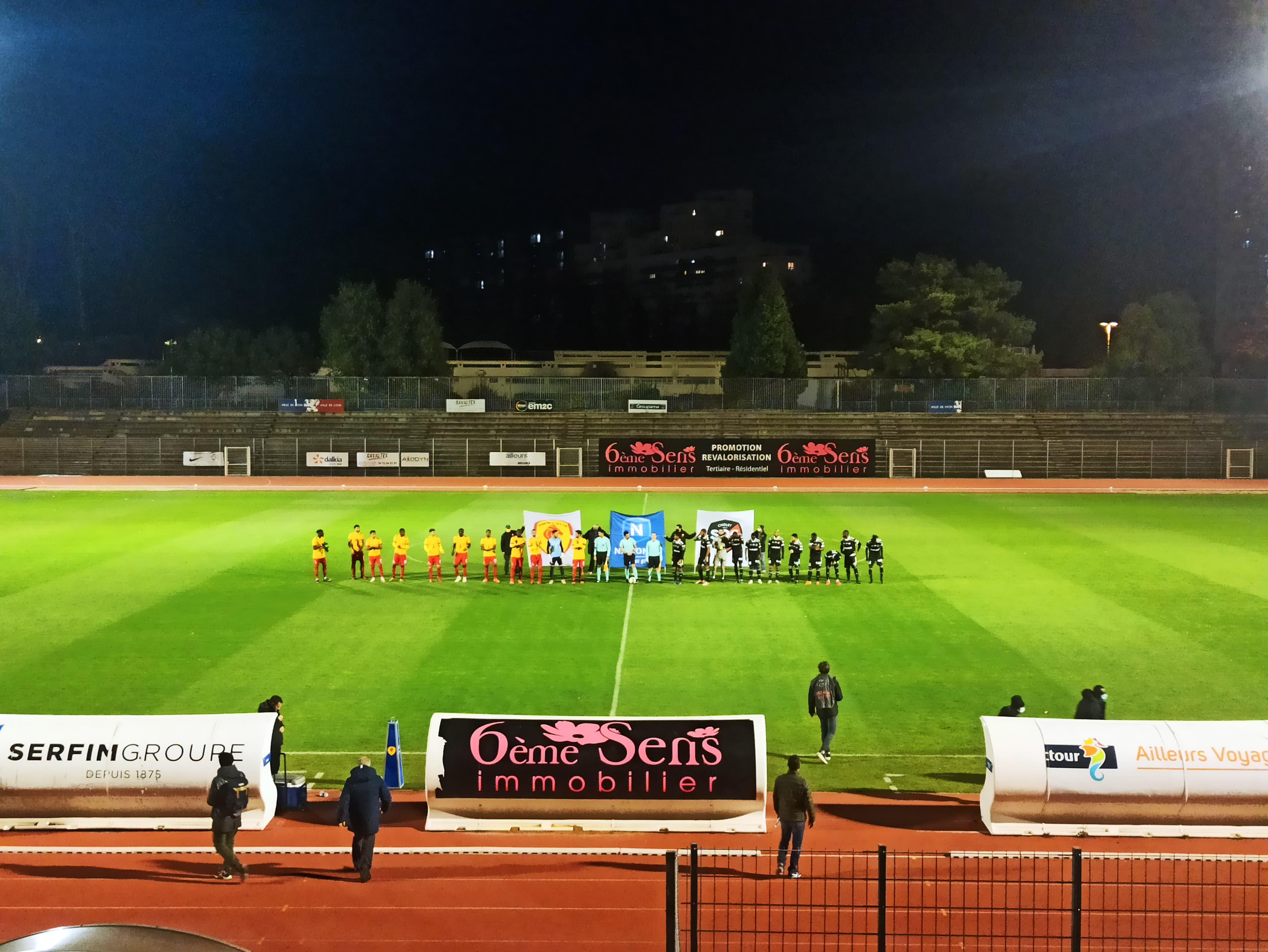 Toujours pas de victoire pour le SC Lyon