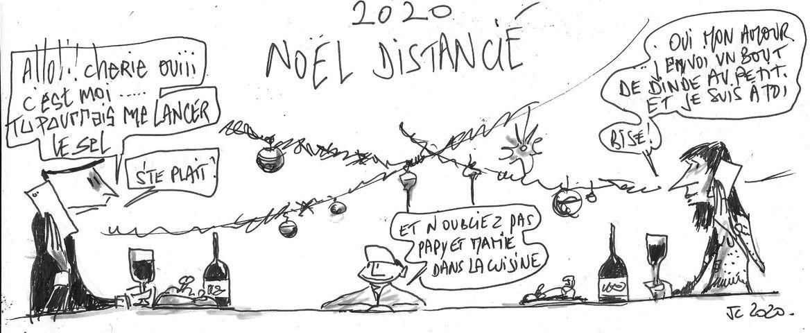 Noël vu par le dessinateur JCL