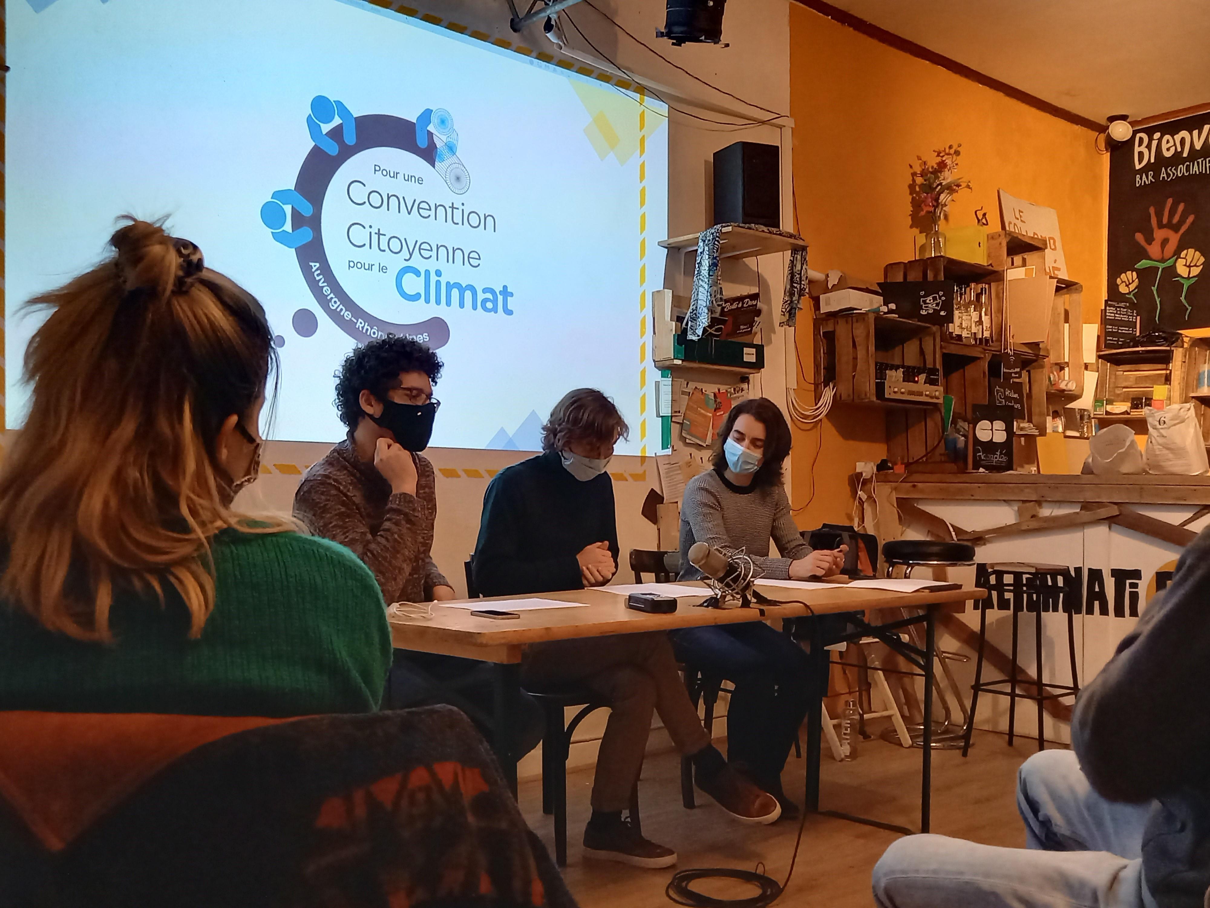 Une convention citoyenne pour le climat en Auvergne Rhône-Alpes