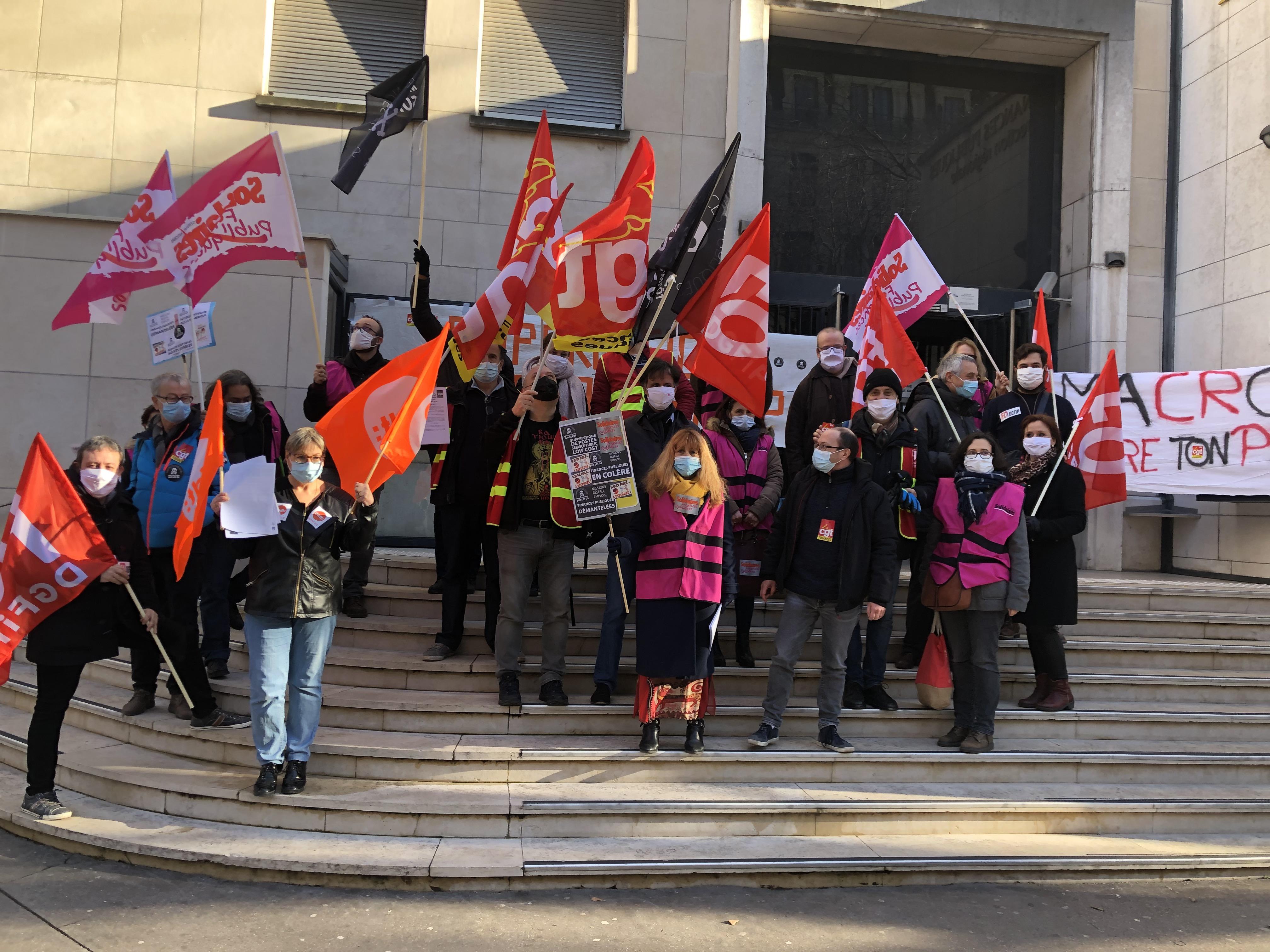 Finances Publiques : suppressions de postes et restructuration dans le Rhône