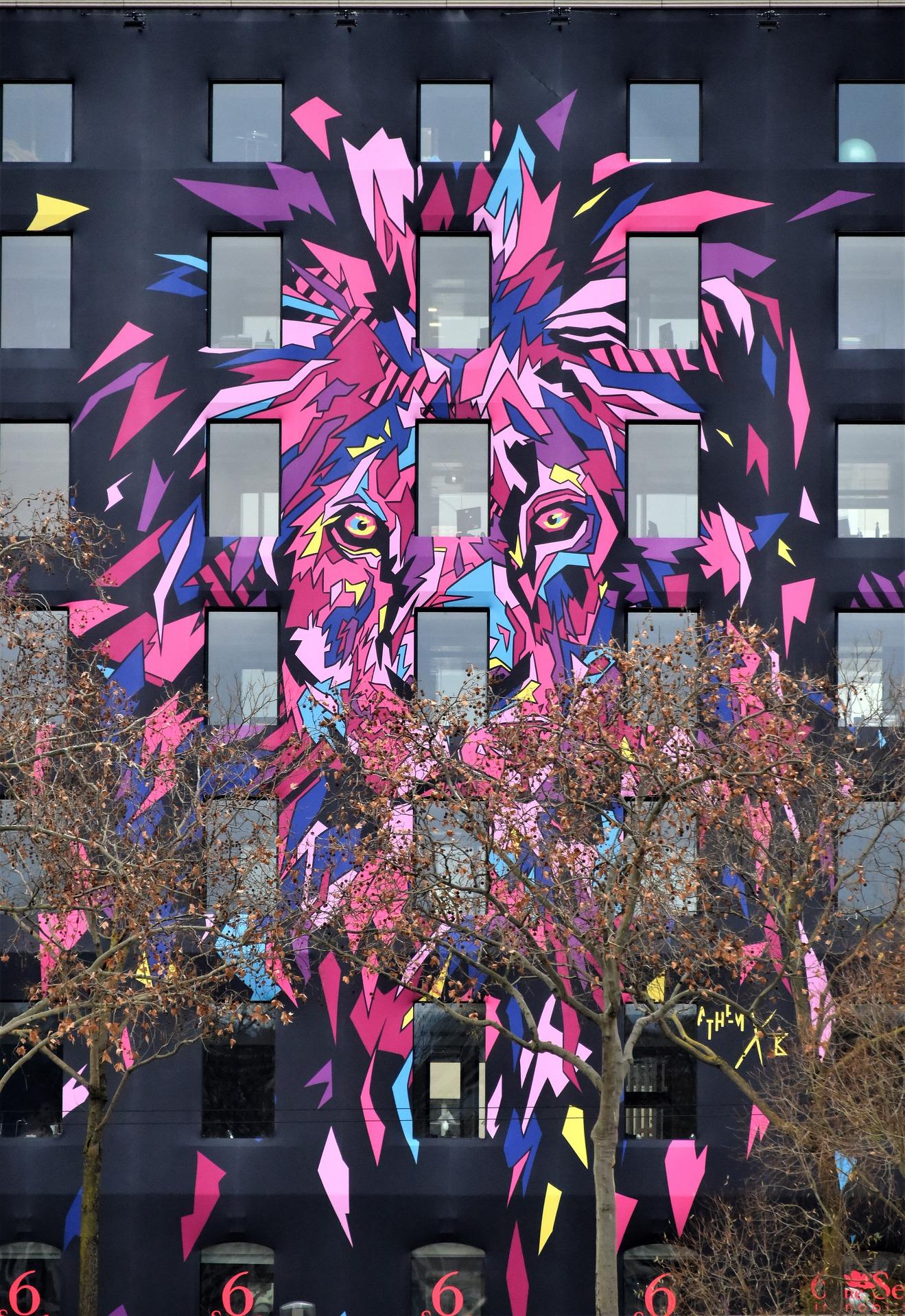 Street Art :  La plus grande fresque d'Europe bientôt peinte à Lyon