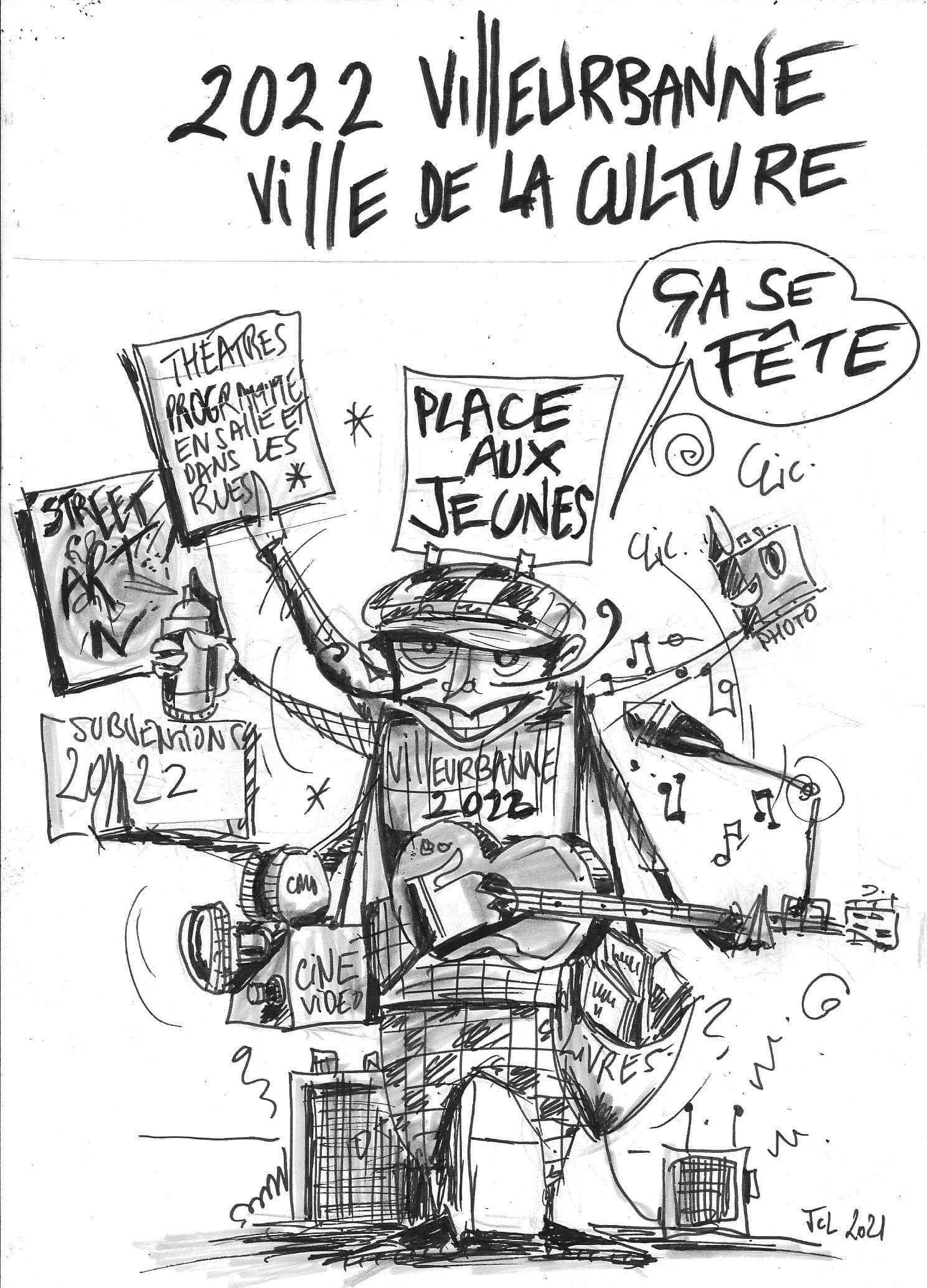 Villeurbanne, capitale française de la culture en 2022