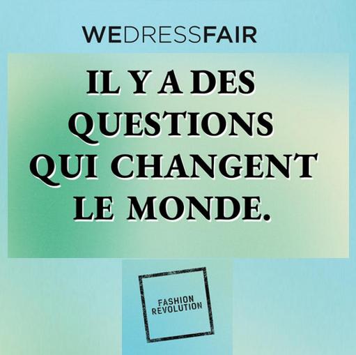 WeDressFair : Quand la mode, le vert et le social s'associent