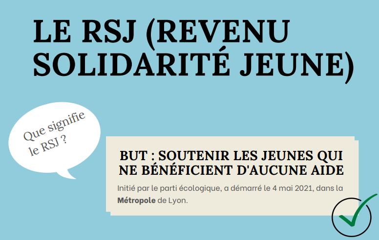 Le RSJ, une nouvelle aide pour les jeunes de la Métropole de Lyon