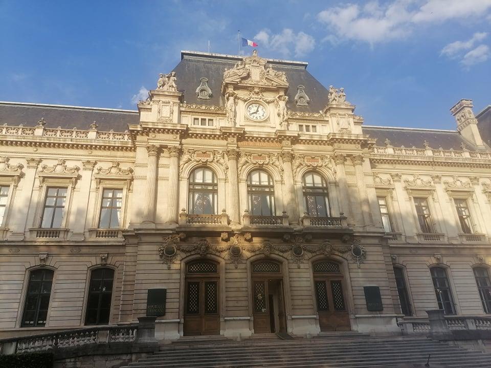 Bâtiment de la préfecture Auvergne-Rhône-Alpes
