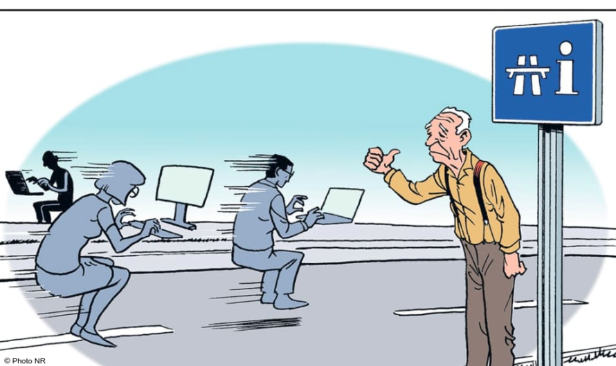 Dossier 2.0 : qu'est ce que la fracture numérique ?