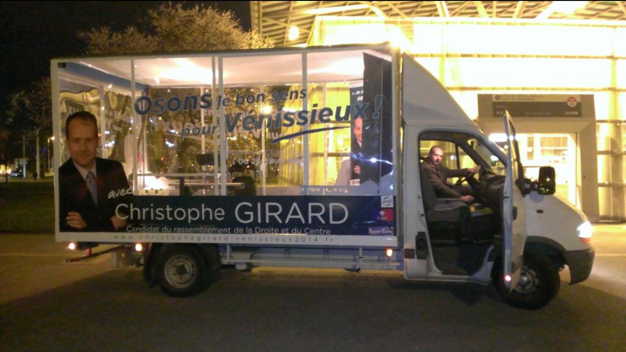 Vénissieux 2015 — Christophe Girard (divers droite) : « L'arrêté anti-expulsions est ignoble »