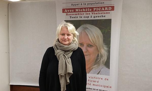 Municipales Vénissieux2015: Michèle Picard: «L'adversaire, c'est la droite»