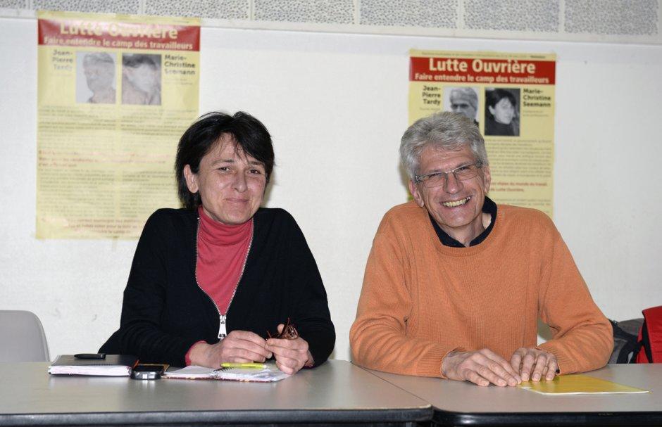 MUNICIPALES VÉNISSIEUX2015: Jean-Pierre Tardy (LO): «On n'a jamais pensé que les élections pouvaient changer les choses»