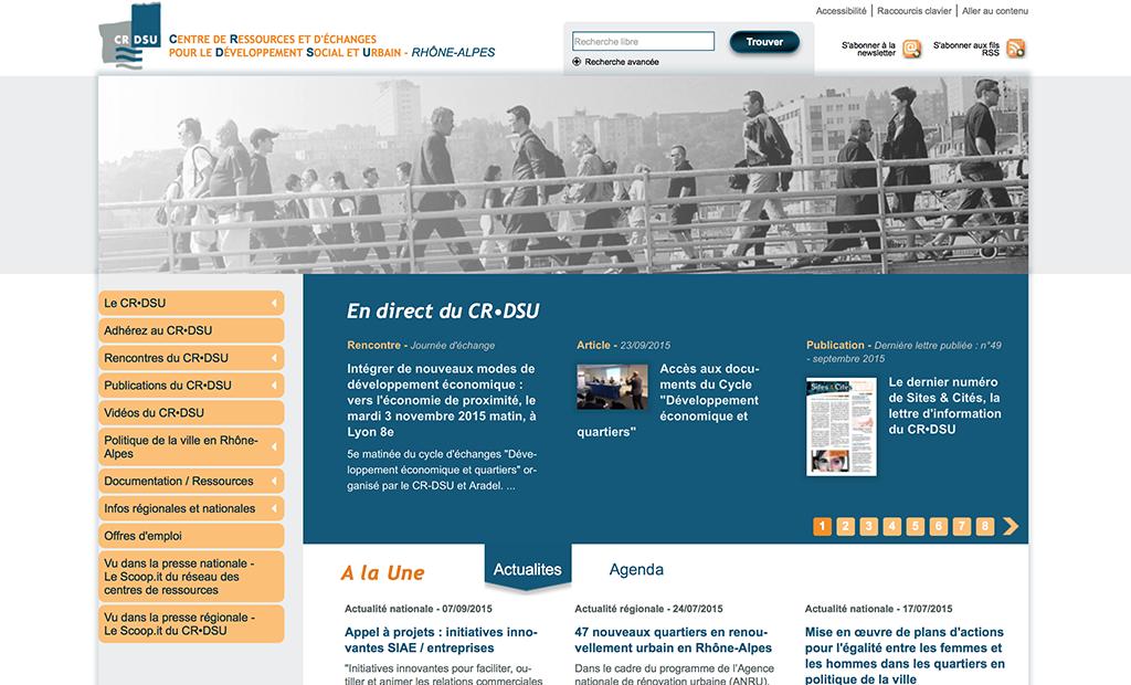 Le CR•DSU: un outil au service de la politique de la ville