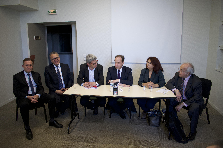 Conférence  UDI : Jean Christophe Lagarde une droite assumée
