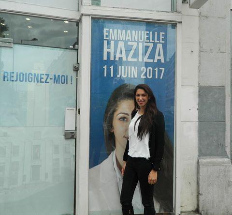 Emmanuelle Haziza veut faire barrage à tout prix au FN