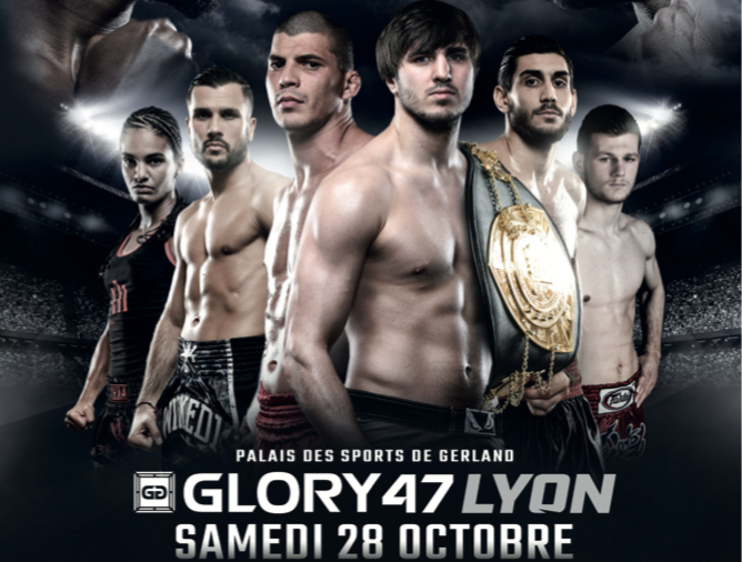 Kickboxing – Le Glory 47 a mis le feu au Palais des Sports de Gerland !