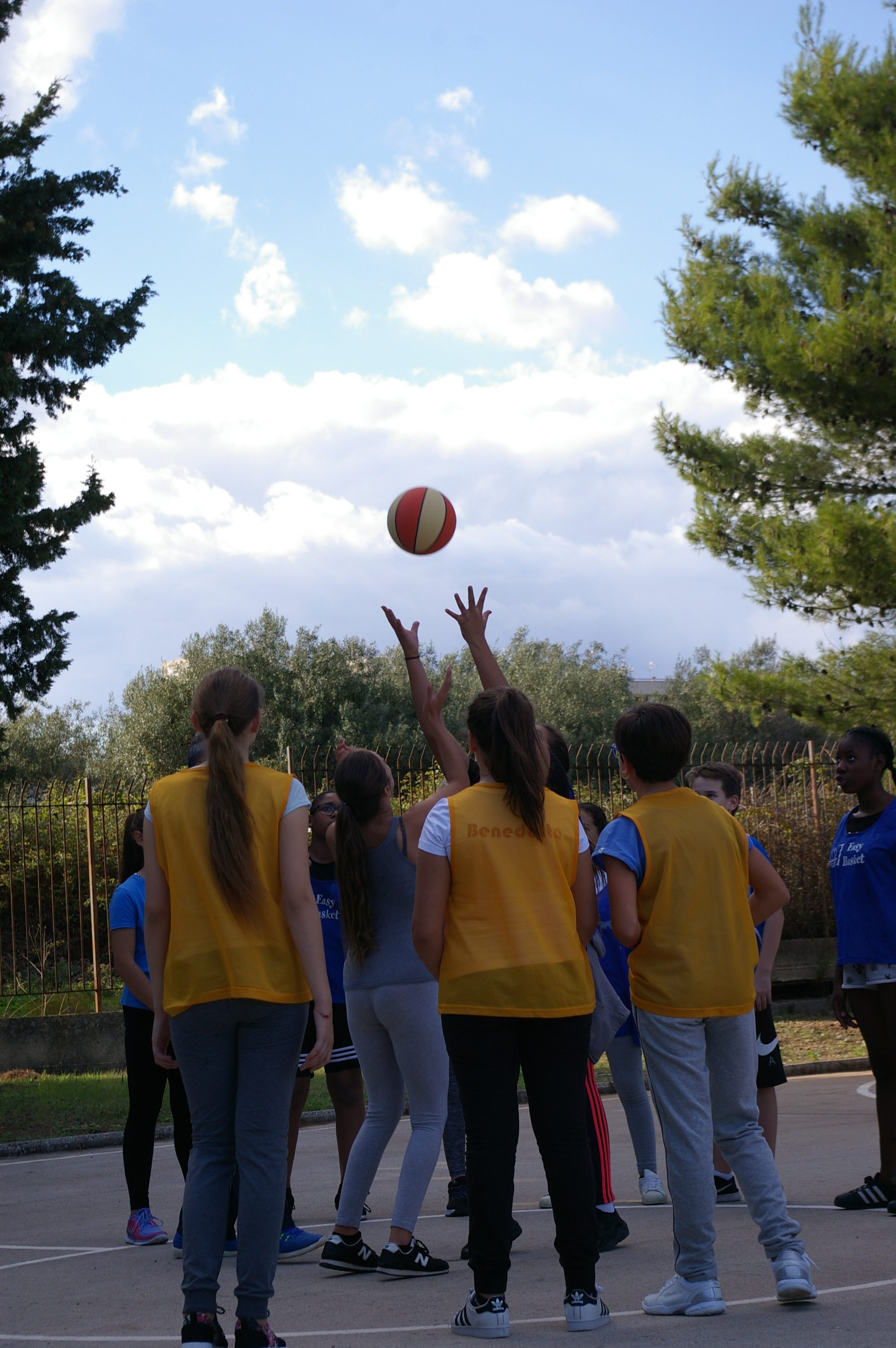 Les collégiens vaudais en Erasmus : un accueil sportif et ensoleillé