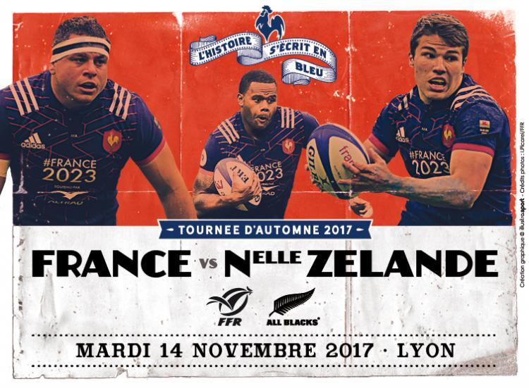 France – Nouvelle Zélande : Le XV tricolore toujours bredouille face aux champions du monde