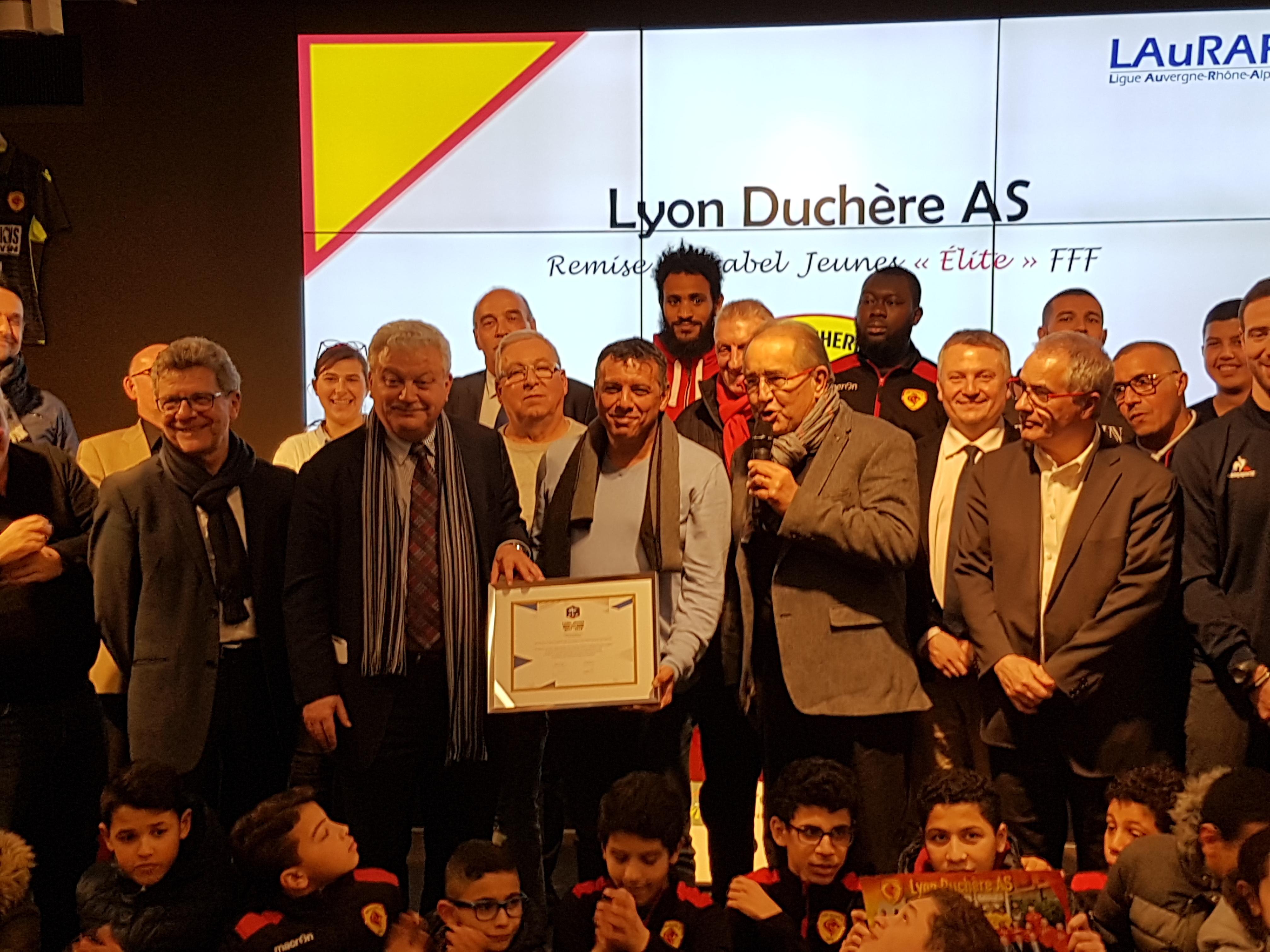 Label Jeunes FFF « Elite » – la Duch' à l'honneur