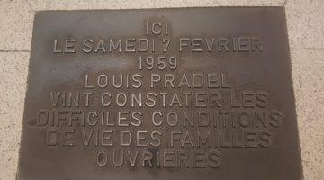 Plaque de métro station Debourg. Crédit Zahra Blal / LyonBondyBlog.