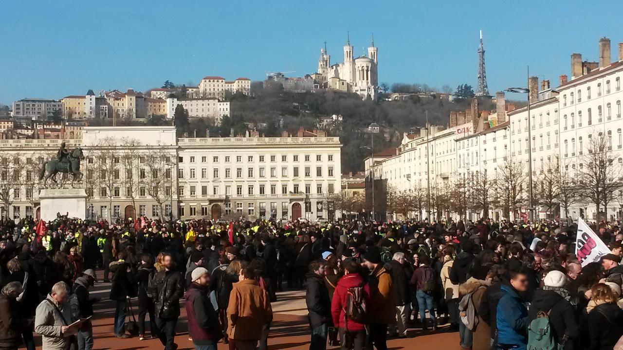 Grève nationale avec les Gilets Jaunes