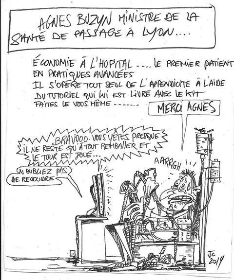 Agnès Buzyn vue par JCL