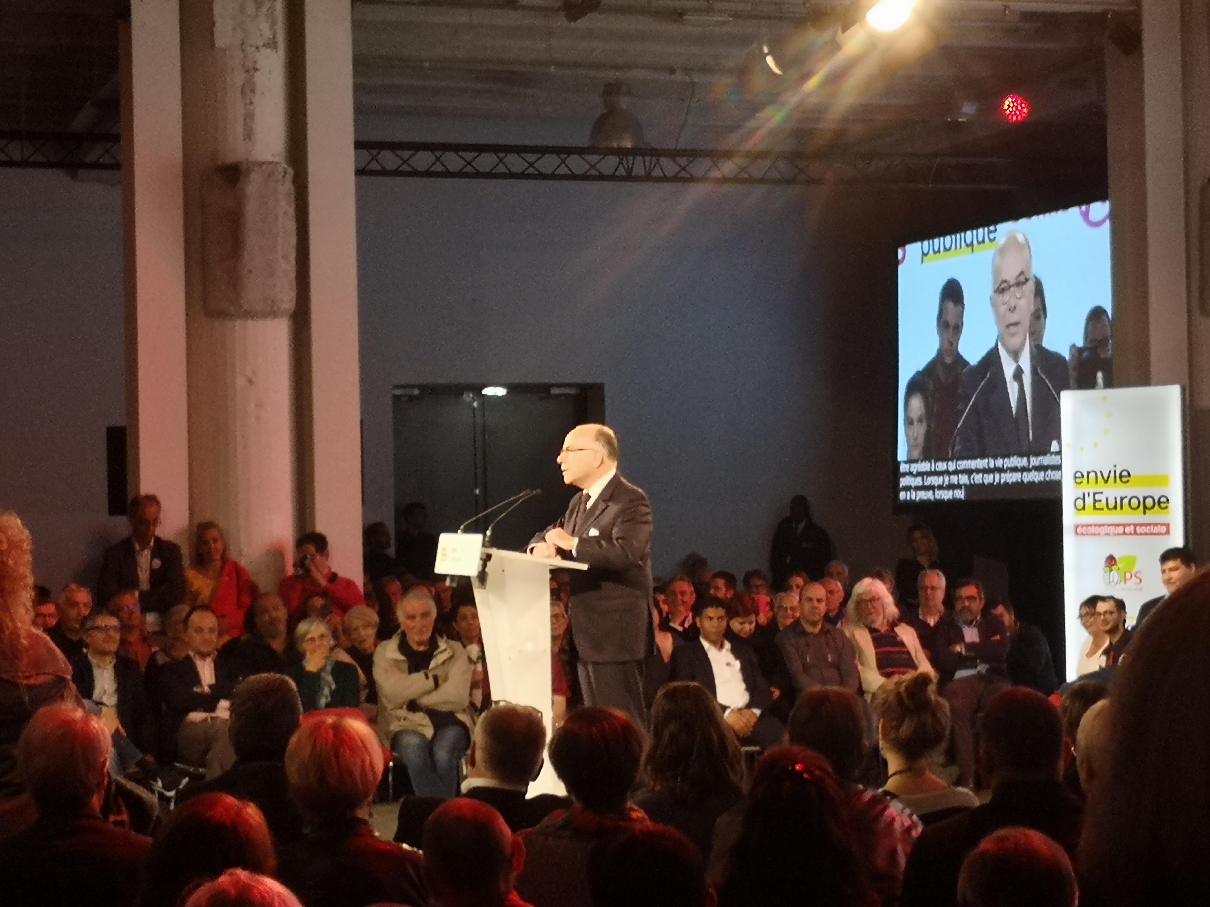 Bernard Cazeneuve à la rescousse d'Envie d'Europe