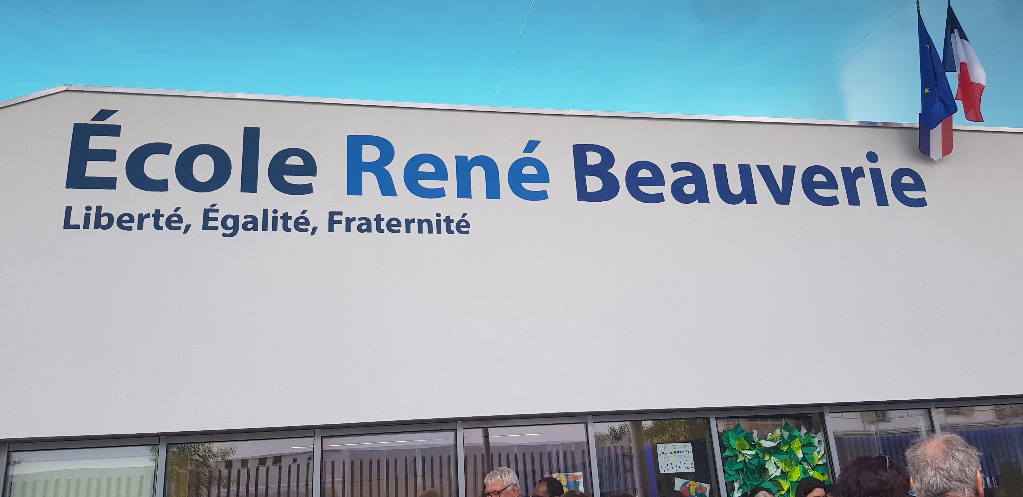 Vaulx-en-Velin : L'école René Beauverie inaugurée en fanfare