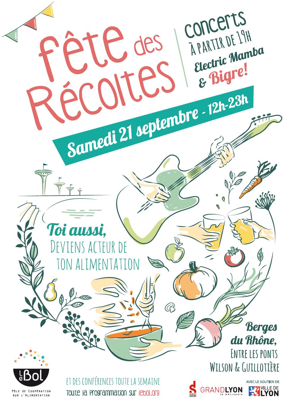 Fête des récoltes à Lyon : «sensibiliser à l'agriculture et l'alimentation durables»